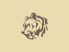 Saber Tooth Tiger designed by Camo Creative. Connect with them on Dribbble; the global community for designers and creative professionals. Tiger Logo, Lion Logo, Tiger Vector, Vector Art, Phenix Tattoo, Tiger Beer, Teeth Logo, Gfx Design, Tiger Illustration