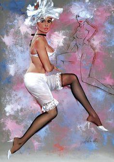Fritz Willis: Pin Up and Cartoon Girls