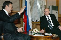 Vladimir Putin and Viktor Yanukovych in 2006 -Russian President Vladimir Putin meets Prime Minister Yanukovych during a visit to Kiev (22 December 2006).- Wikipedia, the free encyclopedia