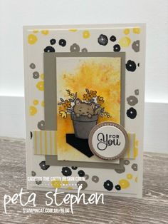 Stampin' Cat CTC183 Pretty Kitty Pretty Cats, Pretty Kitty, Dog Cards, Stamping Up, Cat Memes, Stampin Up Cards, Pet Birds, Cats And Kittens, Cute Animals