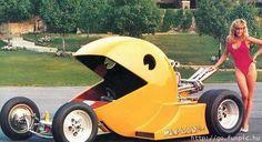 PacMan car - Jay Ohrberg.
