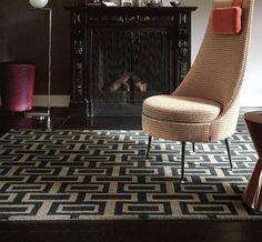 Wedgwood - Intaglio 37205 Charcoal Rugs | Modern Rugs