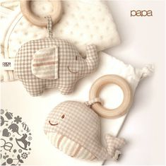 Tienda Online Organic Cotton Wooden Baby Rattles&Mobiles Teething Ring Child Toy Baby Toy | Aliexpress móvil