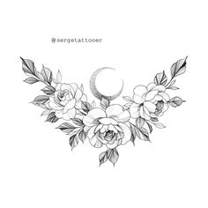 Available for tattooing. To discuss the placement, contact DM. All rights reserved ❌ Do not copy! Small Flower Tattoos, Flower Tattoo Designs, Small Tattoos, Bild Tattoos, Body Art Tattoos, Sleeve Tattoos, Tatoos, Stomach Tattoos Women, Tattoos For Women