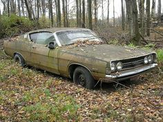 A beautiful abandoned Car