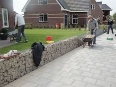 FINN – støttemur gabioner = stein + stålkurv blir til steinmur bed gjerder gjerde