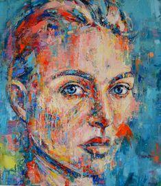 Saatchi Art: Contemporary Portrait Painting by Dejan Bozinovski