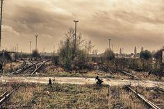 Abandoned trainstation Germany.