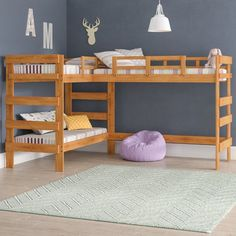Tripple Bunk Beds For Girls Room