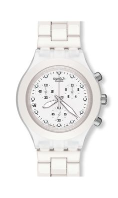 SWATCH - FULL-BLOODED WHITE