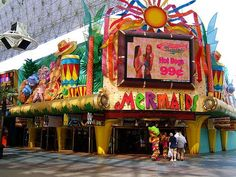 Las Vegas Mermaids Casino- worth going at least once for cheap drinks and fried everything for 99cents