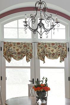custom window treatments.