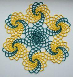 Handmade-Beaded-Doily-Multi-Color