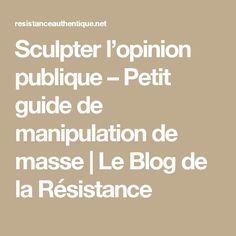 Sculpter l'opinion publique – Petit guide de manipulation de masse | Le Blog de la Résistance