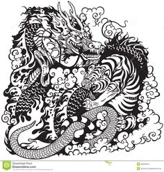 Tiger vs Dragon, which of course is just a giant snake