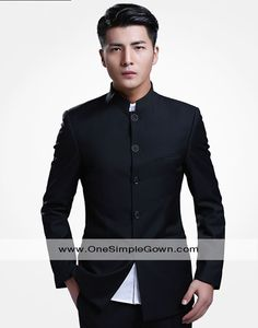 Men's Chinese Tunic Suit Trouser Zhongshan Wear