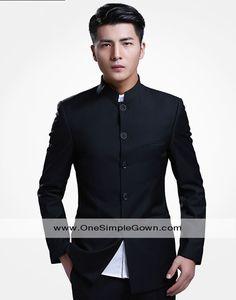 Men's Chinese Tunic Suit Trouser Zhongshan Wear