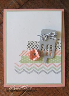 Little Letters Framelits, Word Bubbles Framelits, Sweet Sadie Washi Tape, A Work of Art Stamp Set