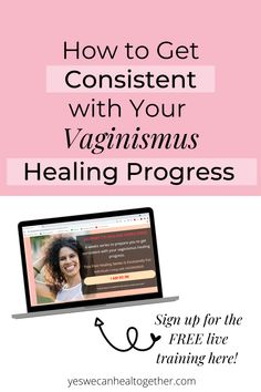 Are you working on overcoming vaginismus? It can be difficult for women who are living with vaginismus to remain consistent in their vaginismus healing journey. But this FREE Journey to Healing Vaginismus 4-week training will help you deal with difficult emotions, react to pin differently, relax through pelvic floor exercises, and use a dilator successfully. Register for free email series here! Womens Health Tips | Female Health Tips | Feminine Health Tips #vaginismus Womens Health Care, Pelvic Floor Exercises, Womens Health Magazine, Mindfulness Exercises, Feeling Frustrated, Floor Workouts, Emotional Healing, Coping Skills, Health Quotes
