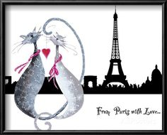 Marilyn Robertson: 'From Paris with Love' at AllPosters.com.au