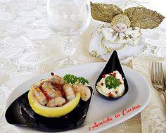 Coppette di Limone con Gamberetti al Pepe Rosa | 2 Amiche in Cucina