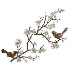 Bids and Blossom Garden Wall Plaque - 33515