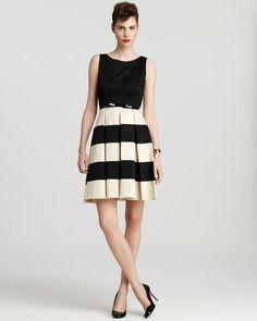 kate spade new york Celina Color Block Dress with Belt | Bloomingdale's