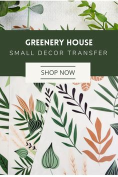 Easily transform your project into a professional-looking work-of-art. No water needed; no prepping needed.Use it on any smooth surface, dressers, mirrors, cabinets, doors, or canvas and fabric. The possibilities are limitless. Floral Furniture, Rub On Transfers, Decoupage Paper, Dressers, Mirrors, Orchids, Greenery, Diy Home Decor, Cabinets
