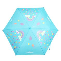 colour changing brolly: watch me change colour when it rains!