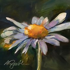 Possibility is an original oil painting by Lancaster, Pa artist Kim Smith #daisypainting #originalart #oilpainting #dailypainting #homedecor