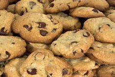 Vanilkové cookies s kousky čokolády
