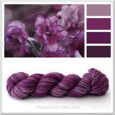 African Violet - Expression Fiber Arts