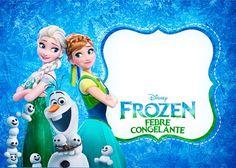 Uau! Vem baixar agora mesmo as imagens do novo filme Frozen Febre Congelante, mais de 100 rótulos, convites e imagens de graça para fazer a sua festa