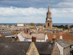 Just south of the Scottish border, it's easy to see why Scotland and England fought for ownership of this picturesque town for so long. Situated at the mouth of the River Tweed, Berwick is home to several gorgeous bridges that make it easy to explore by foot—and take great panoramic photos of the Medieval walls that surround the town.—LM