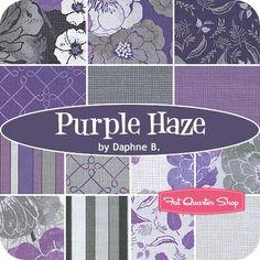Purple Haze Fat Quarter BundleDaphne B. for Wilmington Prints - Fat Quarter Bundles | Fat Quarter Shop