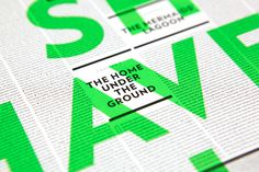 """Typeforce 3"" by Brandt Brinkerhoff #poster #graphicdesign #typography"
