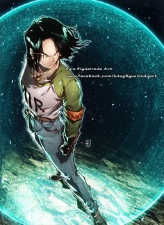 ANDROID 17 from Dragon Ball Super by marvelmania.deviantart.com on @DeviantArt