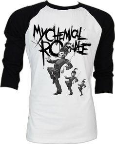 My Chemical Romance Baseball tee $21.99 via Etsy