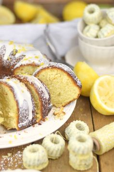 Zitronen Joghurt Gugelhupf