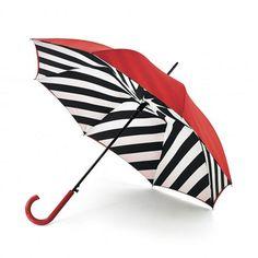 Parapluie rouge double couche par Lulu Guinness
