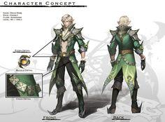 An Armor Design For Elven Male Summoner Concept : Elven Male Summoner Character Model Sheet, Character Modeling, Character Concept, Character Art, Concept Art, Character Ideas, Fantasy Battle, Fantasy Armor, Fantasy Weapons