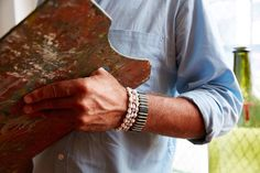 Meet Birch Bark and other JP leather bracelets for Spring !