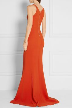 Narciso Rodriguez | Stretch-crepe gown | NET-A-PORTER.COM