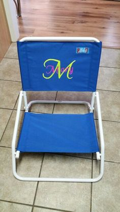 Personalized Beach Chairs toddler personalized pink folding chair | babies