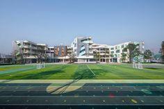 藏 Primary School, Elementary Schools, Landscape Engineer, Trigonometric Functions, National School, Chengdu, School Photos, New City, Outdoor Life