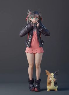 Discover recipes, home ideas, style inspiration and other ideas to try. Zbrush Character, 3d Model Character, Character Modeling, Character Art, Character Design, Character Concept, Animation Character, Anime Figurines, Girls Characters