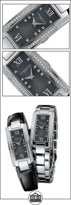 Raymond Weil 1500-ST1-00785 - Reloj analógico de cuarzo para mujer, correa de acero inoxidable color plateado  ✿ Relojes para mujer - (Lujo) ✿