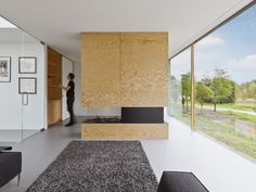 Plywood in a modern home,modern architecture,plywood,i29,design