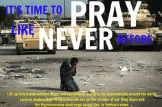 It' Time To Pray For Government