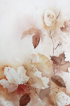 The post appeared first on Marianne Jones. Watercolor Wallpaper, Watercolor Leaves, Abstract Watercolor, Watercolor Illustration, Watercolor Paintings, Watercolour, Cute Fall Wallpaper, Autumn Leaves Wallpaper, Coffee Painting